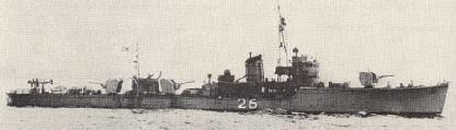 No. 7 Class of Minesweeper (No. 19-88) listed as 648 tons